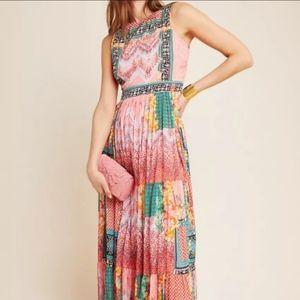 Anthropologie Alessandra Boho Maxi Dress